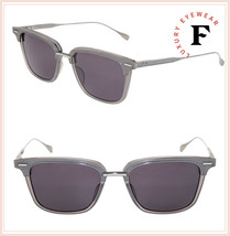DITA OAK DRX2085 AT Silver Grey Titanium Luxury Mirrored Sunglasses 52mm Unisex - $346.50