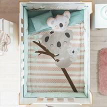 Sweet Traxy Koala Baby Girls Crib Bedding Set Nursery 4 Pcs Baby Shower Gift - $107.79