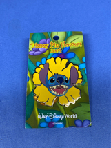 WDW Disney Pin Flowers Pursuit 2004 Stitch Disney Pin World LE 2500 - $19.99