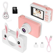 "Kids Camera Gifts for Girls, 2"" IPS Screen 8.0MP Shockproof Mini Child Video Cam image 1"