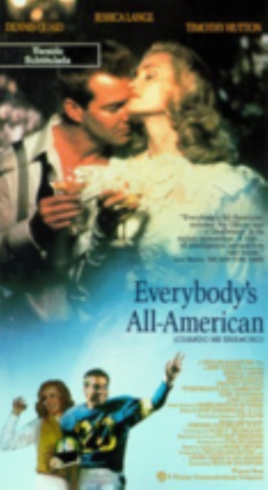 Everybody's All American Vhs