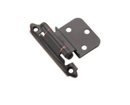 BP3428ORB Amerock Self-Closing, Face Mount Hinge with 3/8in(10mm) Inset -2Pack - $6.00