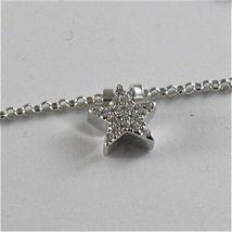 925 Silberne Halskette Jack&co mit Klee Herz Stern und Schmetterling 45 CM image 5