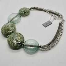 Necklace Antique Murrina Venezia with Discs Large of Murano Glass COA75A34 image 10