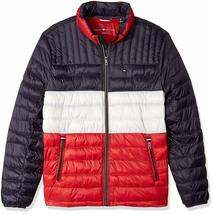 Tommy Hilfiger Men's Ultra Loft Insulated Packable Down Puffer Nylon Jacket image 7