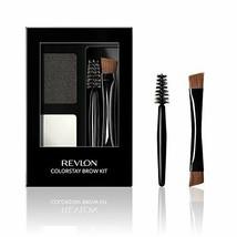 Revlon ColorStay Brow Kit, Includes Longwear Brow Powder, Clear Pomade, - $9.72