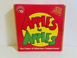 Mattel Apples to Apples Wood Crate Edition Card Game of Crazy Combinations - $11.14