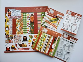 Gnome For Thanksgiving Holidays.  DELUXE Kit.  CLEARANCE