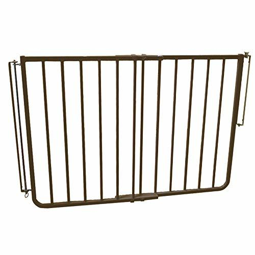 Cardinal Gates Outdoor Child Safety Gate Brown Patio