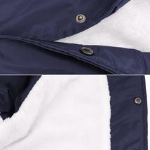 Men's Windbreaker Lightweight Waterproof Sherpa Button Up Athletic Coach Jacket image 9
