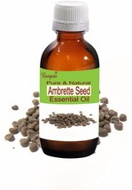 Ambrette Seed Pure Natural Essential Oil 50 ml Abelmoschus moschatus by Bangota - $56.72