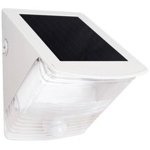 MAXSA Innovations 40234 Solar-Powered Motion-Activated Wedge Light (White) - $48.19