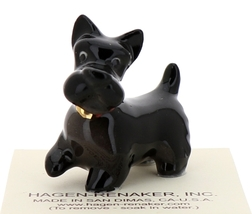 Hagen-Renaker Miniature Ceramic Dog Figurine Don Winton Scottish Terrier  image 1