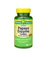 Spring Valley Papaya Enzyme Complex Chewable Tablets, Papaya Flavor, 180 Ct - $9.60