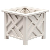 Miles Kimball 329156 Chippendale Planter Box, Plant Holder for Patio and... - $28.89 CAD