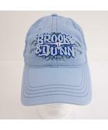 Brooks & Dunn Lt Blue Embroidered Womens Adjustable Baseball Cap Hat - $21.19