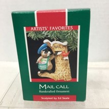 1989 Mail Call Hallmark Christmas Tree Ornament MIB Price Tag H3 - $14.36