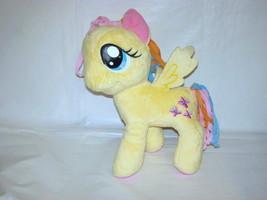 "2014 My Little Pony Hasbro Fluttershy Yellow & Pink Butterflies Plush Toy 12"" - $11.88"