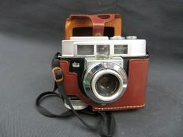 Vintage Kodak Motormatic 35F Camera w Leather Carry Cover Case - $19.00