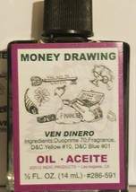 MONEY DRAWING OIL 1/2 OUNCE INDIO BRAND GREEN - $6.78
