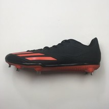 Adidas Men Baseball Cleats Black Orange Metal Spikes Adizero Lace Up Shoes - $38.56+