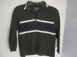 Boy Children's Place Forest Green Long Sleeve Shirt Size M - $3.99