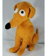 Universal Studios Plush SANTAS LITTLE HELPER Simpsons Lg Dog Stuffed Ani... - $19.80