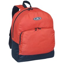 Everest Classic Backpack with Front Organizer, Rustic Orange, One Size - $40.21 CAD