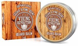 Beard Balm Cedar & Pine Scent w/Argan & Jojoba Oils - Styles, Strengthens & Soft image 7