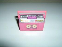 Rare Vintage Barbie Doll Boom Box Tape Revolves - $6.99