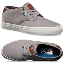 VANS Chima Estate Pro (Herringbone) Light Grey UltraCush Sneakers Mens Size 7 - $44.95