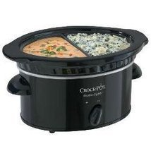 Crock-Pot 32 Oz Double Dipper Slow Cooker SCDD - £33.27 GBP