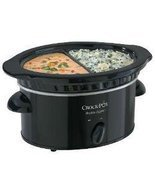 Crock-Pot 32 Oz Double Dipper Slow Cooker SCDD - £33.58 GBP