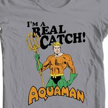 Aquaman T-shirt Retro Super Friends DC comics graphic Justice League tee DCO582 image 1