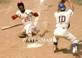 Lou Brock St. Louis Cardinals EOS Vintage 8X10 Color Baseball Memorabilia Photo - $6.99
