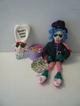 """Hallmark Maxine's Coasters, Ceramic Greasy Spoon & 16"""" Maxine Doll Lot of 3 - $24.75"""