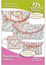 Patchwork Galore Anita Goodesign Embroidery Design CD, CD ONLY - $16.82