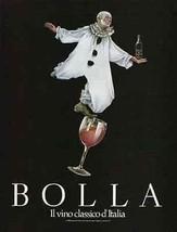 Clown Balances Bolla Wine 1989 AD Il vino classico d' Italia - $14.99