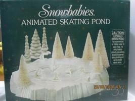 Dept. 56 SNOWBABIES Skating Pond NIB - $51.48