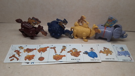 Kinder - K98 116-119 Riders- complete set + 4 papers - surprise eggs - $4.50