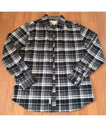 Weatherproof Vintage Since 1948 Mens Flannel Shirt Size Medium 100% Cott... - $19.80