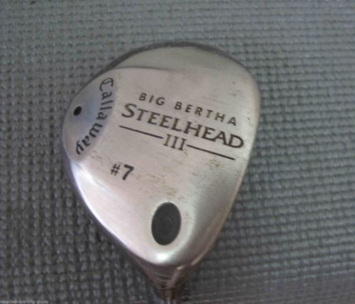Golf-Artikel Callaway Big Bertha Steelhead III 3 Wood System III Firm Graphite Shaft Golfschläger