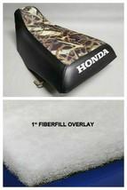HONDA TRX300 Seat Cover Repair Kit w/ Foam Overlay  Black or 25 Colors (ST) - $42.95