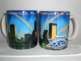 Jacksonville NFL Superbowl Patriots Eagles 2005 Coffee Mug LOT OF 2 New ... - $15.39