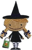 Custom And Unique Happy Halloween [Boo Crew Witch ]Embroidered Iron on/S... - €8,08 EUR