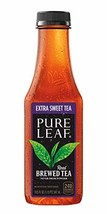 Pure Leaf Iced Tea, Extra Sweet, Real Brewed Black Tea, 18.5 Fl Oz Bottles Pack
