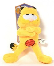 1 Count Multipet Garfield & Odie Squeaking Plush Dog Toy  - £15.56 GBP