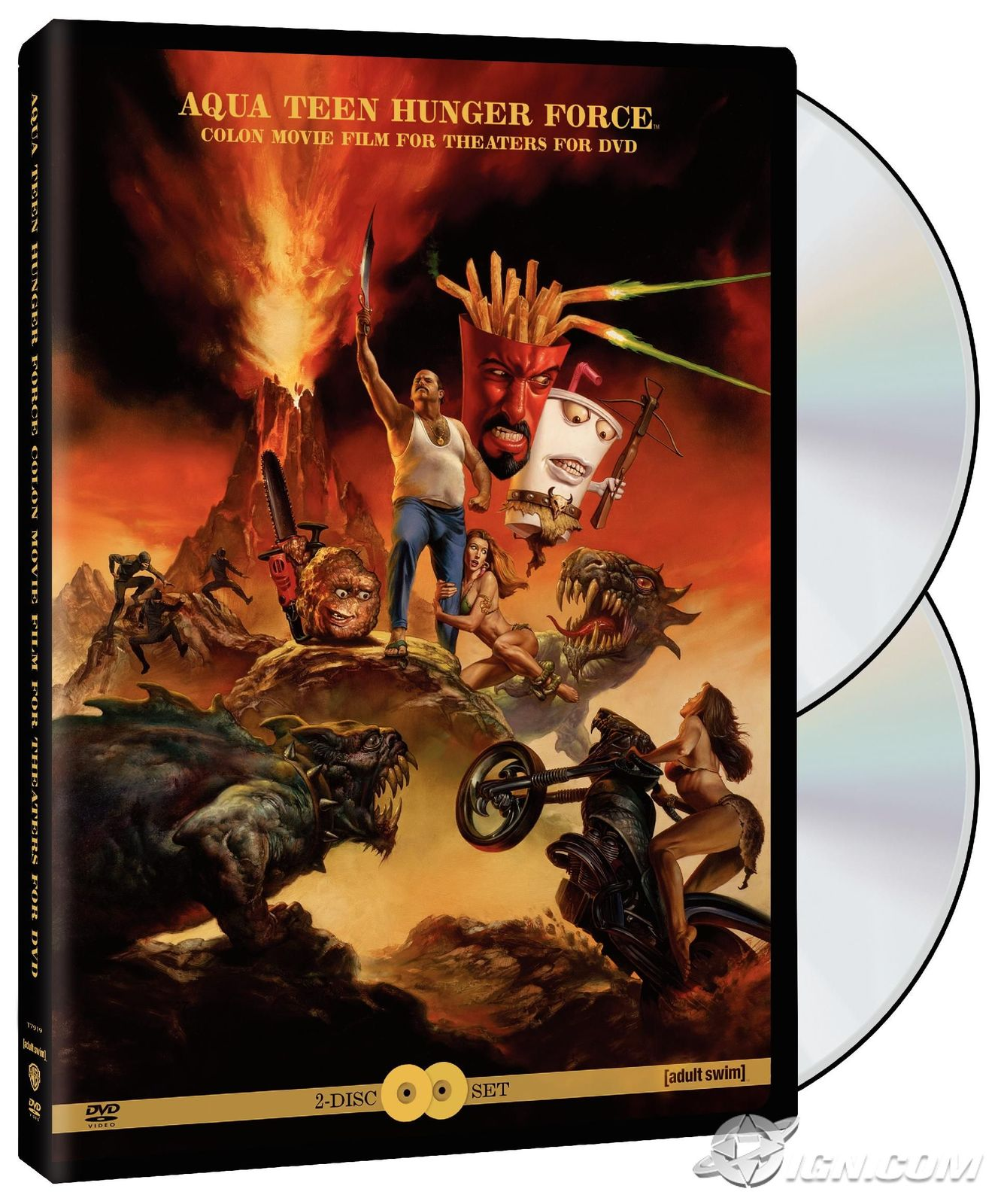 Aqua Teen Hunger Force Colon Movie Film for Theatres [DVD] Free Shipping Canada