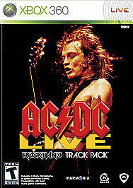 Sealed Microsoft Xbox 360 AC/DC Live: Rock Band Track Pack Video Game NIP