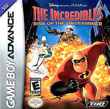 Incredibles: Rise of the Underminer (Nintendo Game Boy Advance, 2005) CA... - $5.32